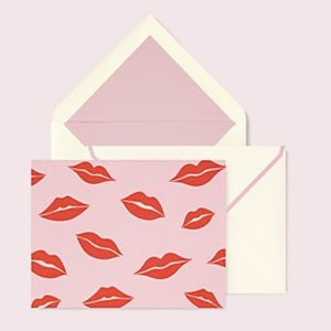 kate spade Office - 🆕 kate spade ♠️ Lips Notecard Set